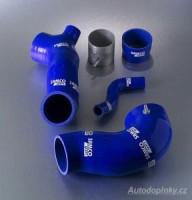 SAMCO Sport kit, silikonové modré sportovní hadice Mitsubishi Lancer EVO 4/5/6 -- od roku výroby 10/96- ( sada obsahuje 4kusy přesných silikonových hadic pro sání vzduchu )