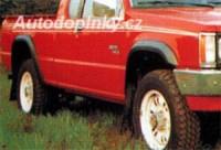 LESTER lemy blatníků Mitsubishi L200 2dv. -- do roku výroby -96