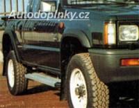 LESTER lemy blatníků Mitsubishi L200 4dv. -- do roku výroby -96