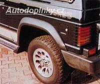 LESTER lemy blatníků velké Mitsubishi Pajero 2dv. -- do roku výroby -91 (W5675)