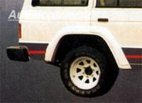LESTER lemy blatníků Mitsubishi Pajero 2/4dv. -- do roku výroby -91