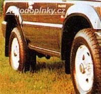 LESTER lemy blatníků Mitsubishi Pajero 4dv. -- rok výroby 91-97