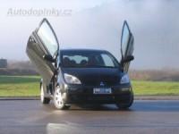 LSD vertikální otevírání předních dveří Mitsubishi Colt Z30 3dv. -- od roku výroby 06/04-